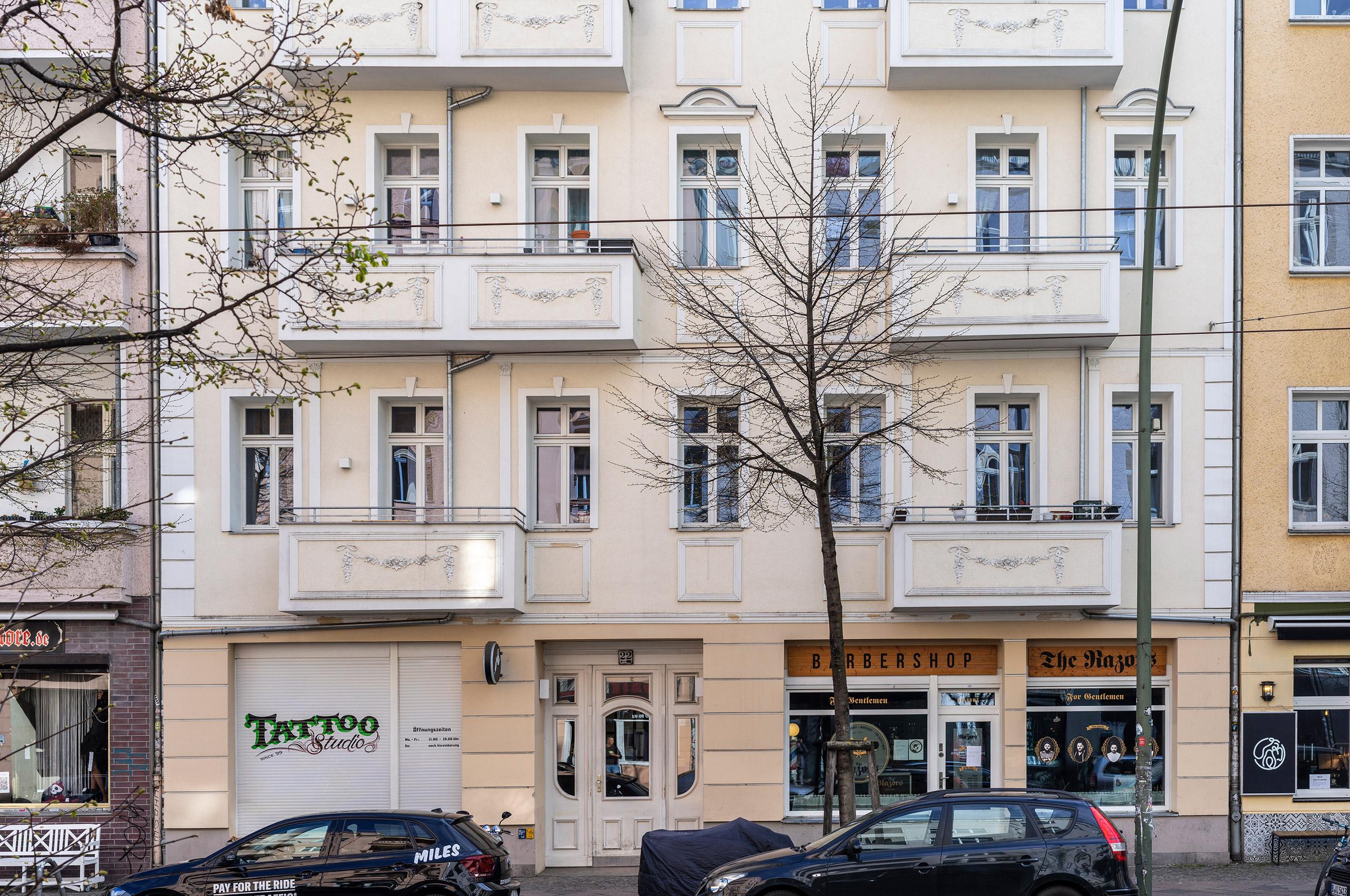 Vicent Architekten Boxhagenerstraße 22 Berlin Friedrichshain