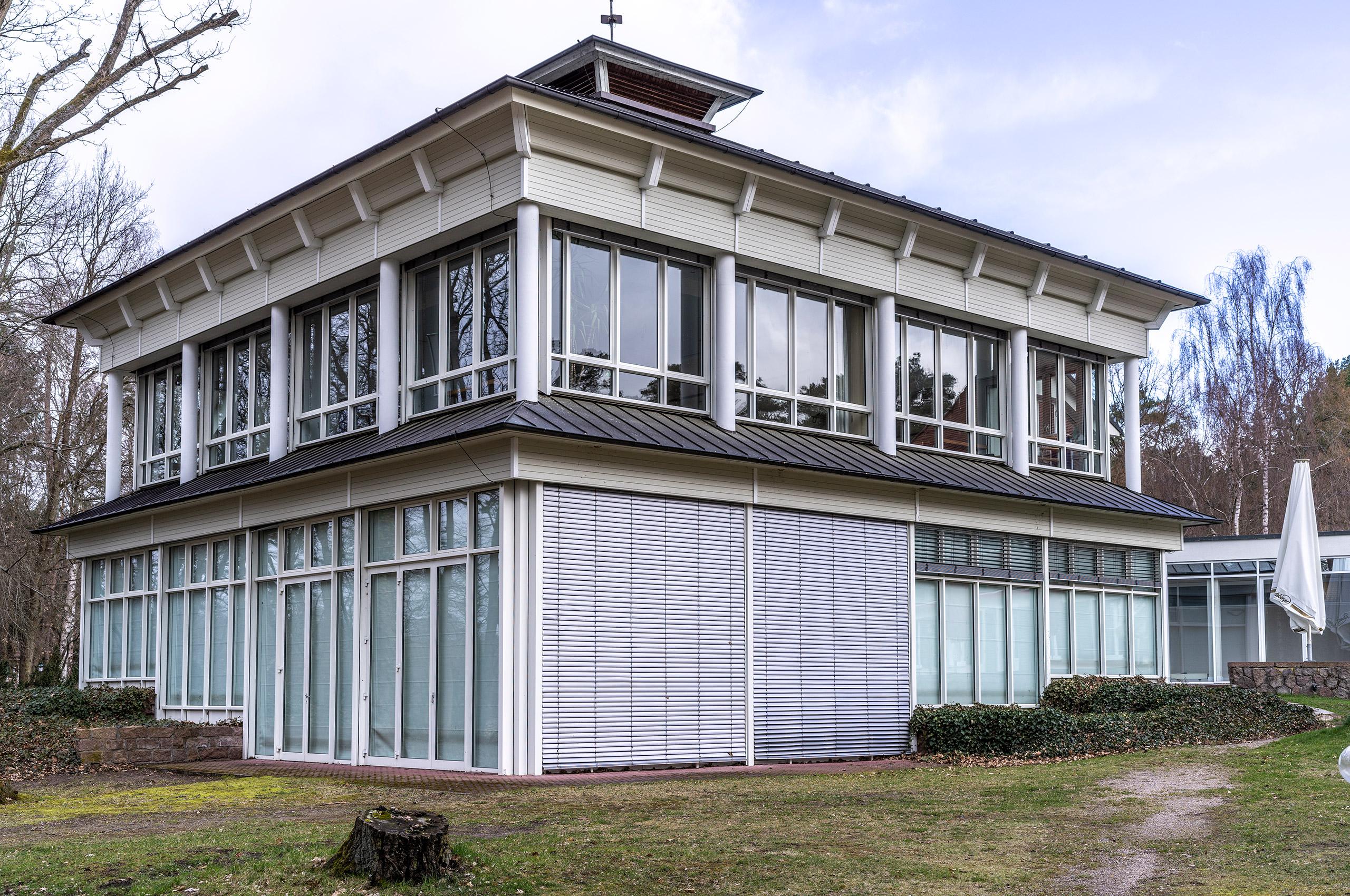 Vicent Architekten Hotel Döllnsee Auditorium