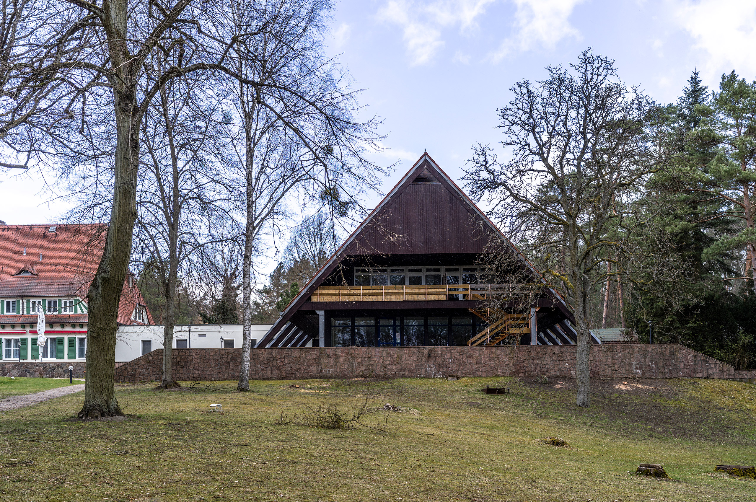 Vicent Architekten Hotel Döllnsee Schwimmbad