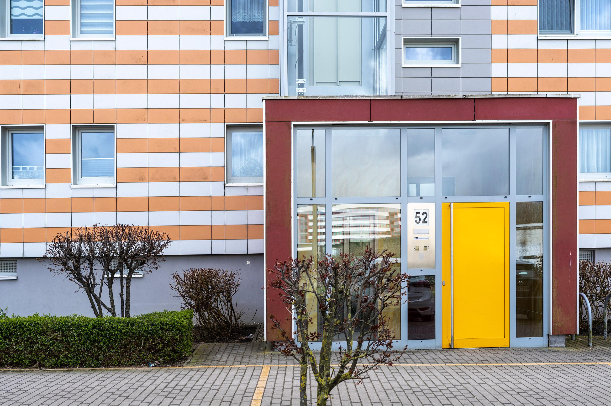Vicent Architekten Lion-Feuchtwanger-Strasse Eingang