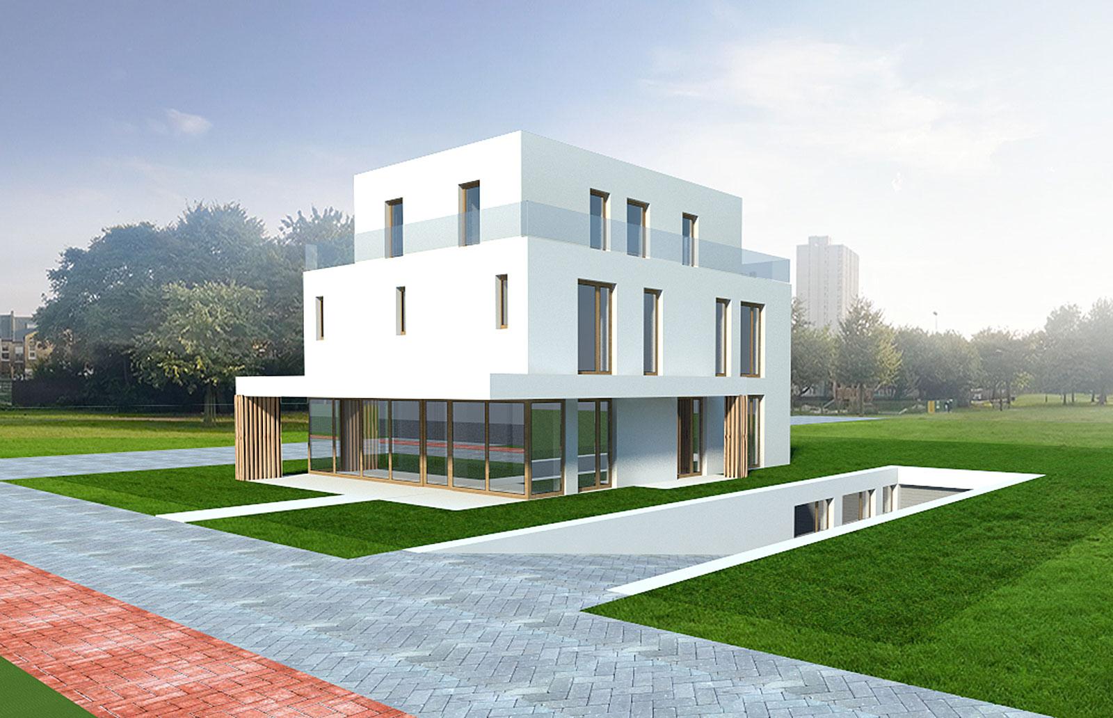 Vicent Architekten Hotel Adlergestell